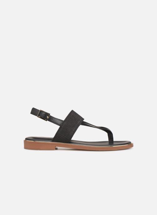 Sandales et nu-pieds Clarks ELLIS OPAL Noir vue derrière