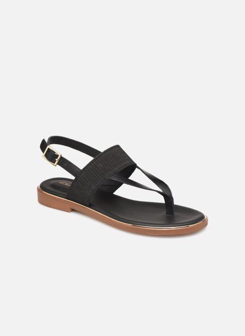 Sandales et nu-pieds Clarks ELLIS OPAL Noir vue détail/paire