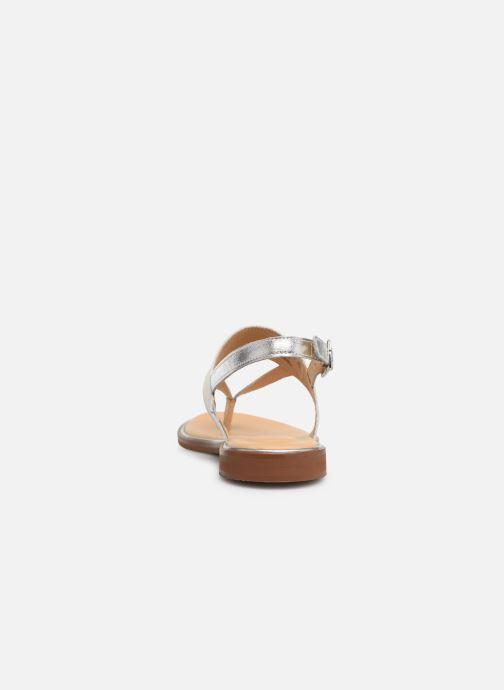 Sandales et nu-pieds Clarks ELLIS OPAL Blanc vue droite
