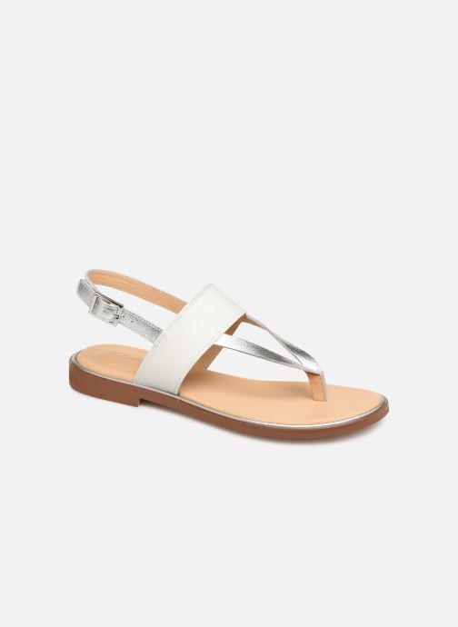 Sandales et nu-pieds Clarks ELLIS OPAL Blanc vue détail/paire