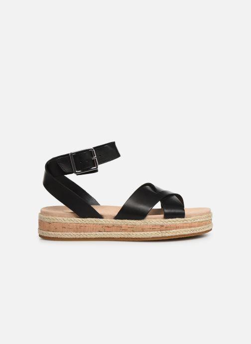 Sandales et nu-pieds Clarks BOTANIC POPPY Noir vue derrière