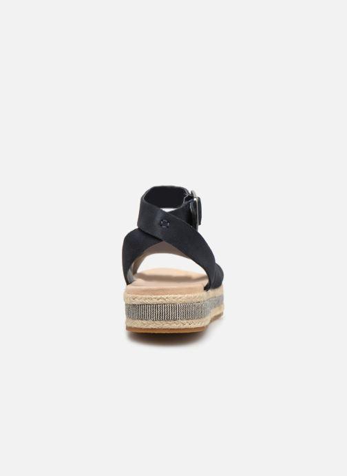 Sandales et nu-pieds Clarks BOTANIC POPPY Bleu vue droite