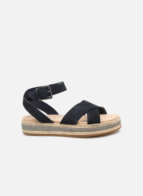 Sandales et nu-pieds Clarks BOTANIC POPPY Bleu vue derrière