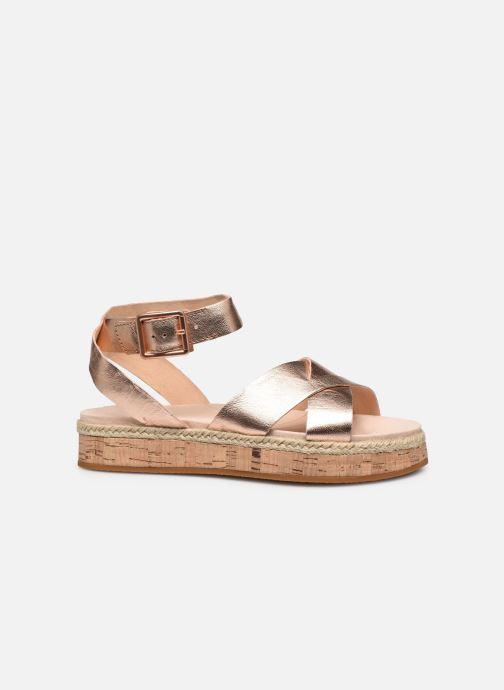 Sandales et nu-pieds Clarks BOTANIC POPPY Argent vue derrière