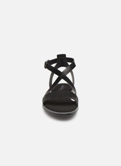 Sandales et nu-pieds Clarks BAY ROSIE Noir vue portées chaussures
