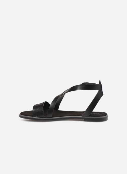 Sandales et nu-pieds Clarks BAY ROSIE Noir vue face
