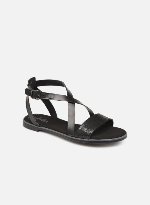 Sandales et nu-pieds Clarks BAY ROSIE Noir vue détail/paire