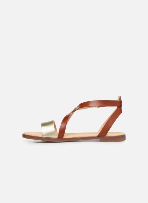 Sandales et nu-pieds Clarks BAY ROSIE Marron vue face