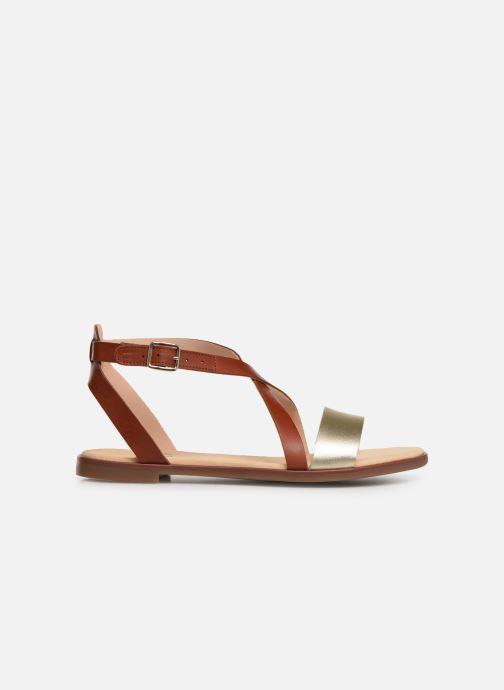 Sandales et nu-pieds Clarks BAY ROSIE Marron vue derrière