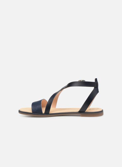 Sandales et nu-pieds Clarks BAY ROSIE Bleu vue face