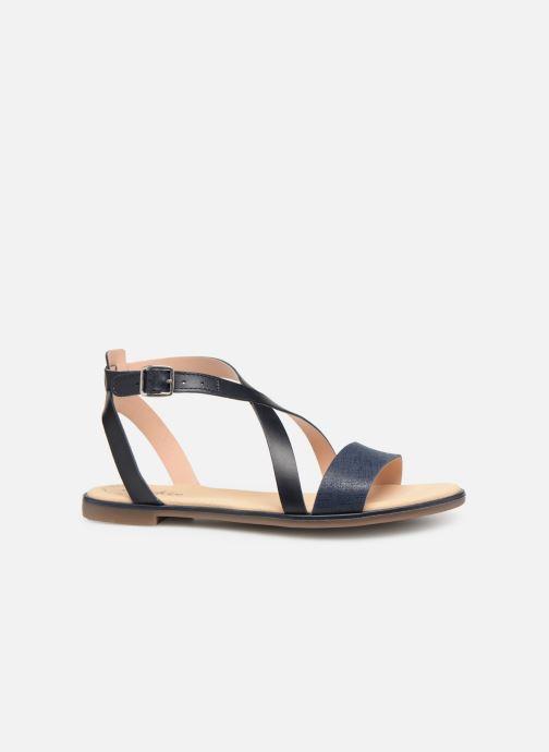 Sandales et nu-pieds Clarks BAY ROSIE Bleu vue derrière