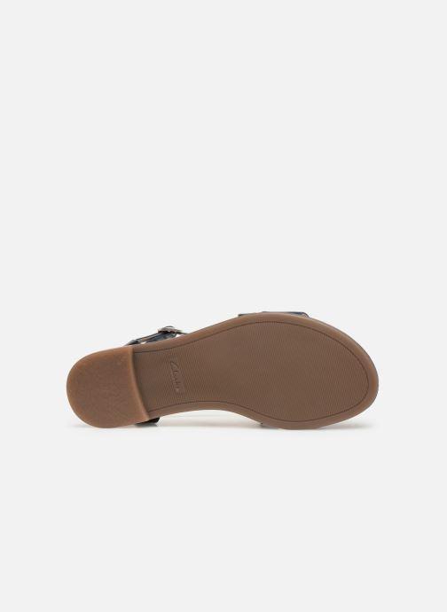 Sandales et nu-pieds Clarks BAY ROSIE Bleu vue haut