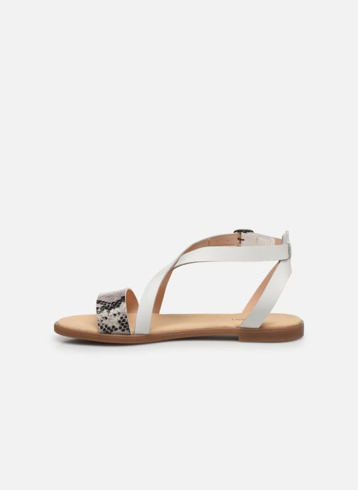 Sandales et nu-pieds Clarks BAY ROSIE Gris vue face
