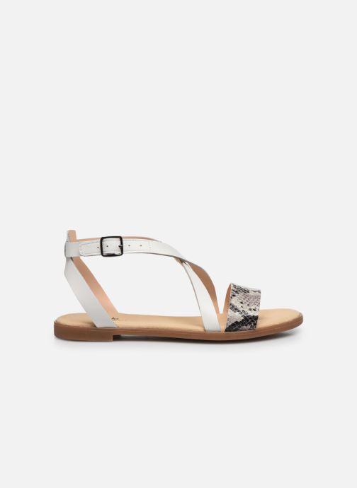 Sandales et nu-pieds Clarks BAY ROSIE Gris vue derrière