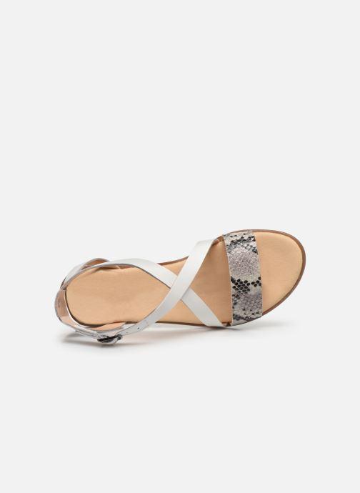 Sandales et nu-pieds Clarks BAY ROSIE Gris vue gauche