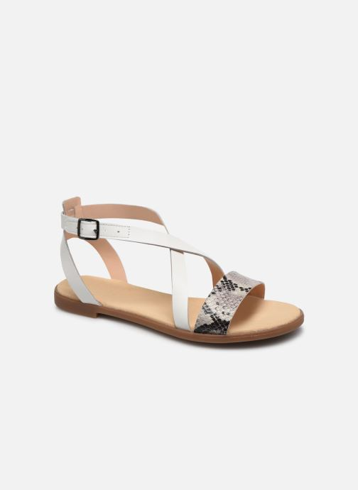 Sandales et nu-pieds Clarks BAY ROSIE Gris vue détail/paire