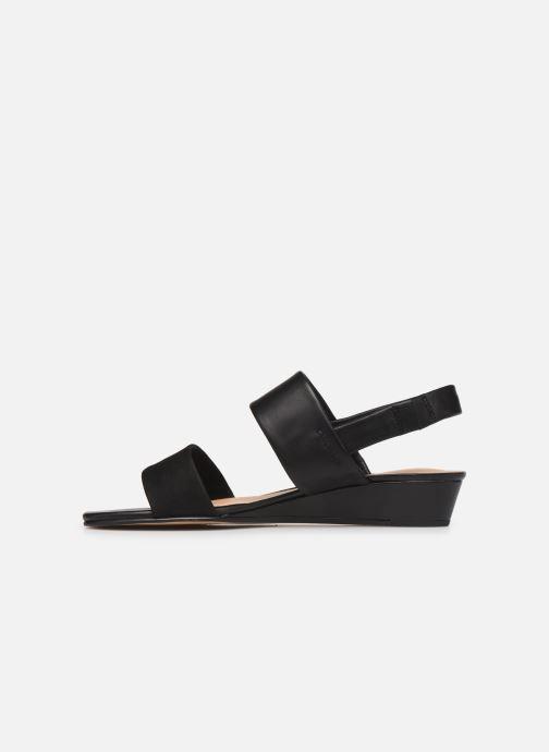 Sandales et nu-pieds Clarks SENSE LILY Noir vue face