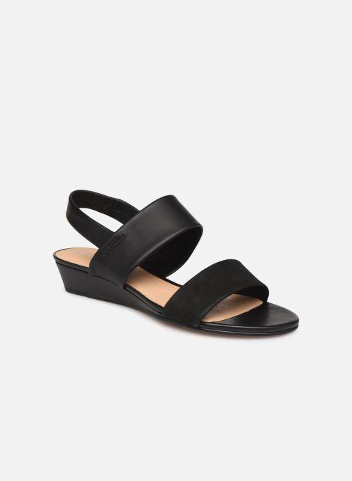 Sandales et nu-pieds Clarks SENSE LILY Noir vue détail/paire