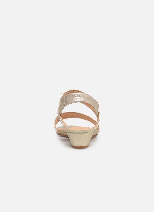 Sandales et nu-pieds Clarks SENSE LILY Or et bronze vue droite