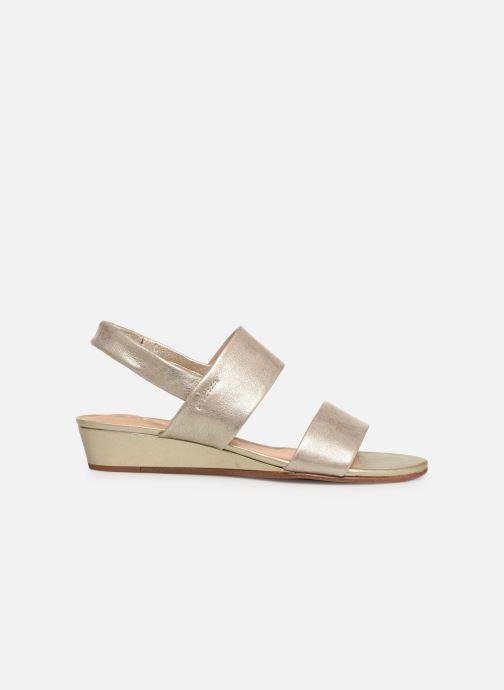 Sandales et nu-pieds Clarks SENSE LILY Or et bronze vue derrière