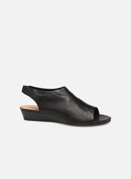 Sandales et nu-pieds Clarks SENSE SILK Noir vue derrière