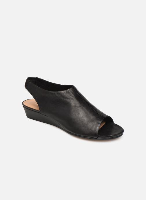 Sandaler Clarks SENSE SILK Sort detaljeret billede af skoene