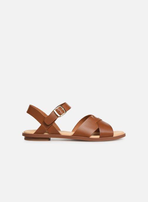 Sandales et nu-pieds Clarks WILLOW GILD Marron vue derrière
