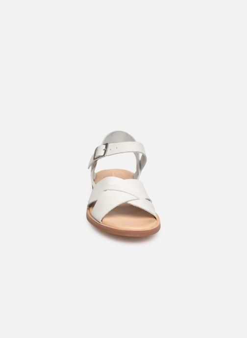Sandali e scarpe aperte Clarks WILLOW GILD Bianco modello indossato