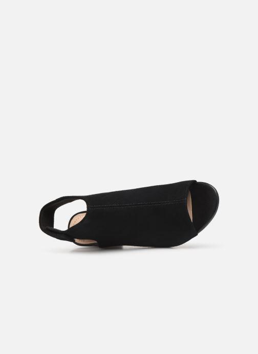 Sandali e scarpe aperte Clarks DEVA BELL Nero immagine sinistra