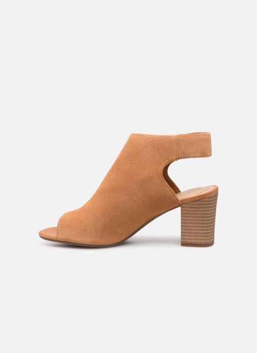 Sandales et nu-pieds Clarks DEVA BELL Marron vue face