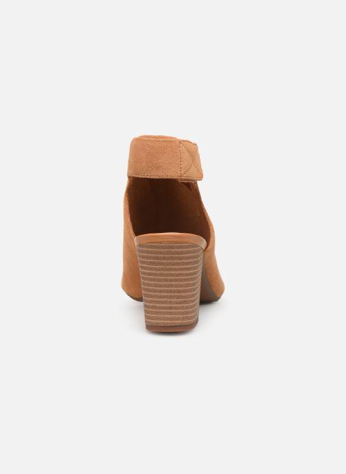 Sandales et nu-pieds Clarks DEVA BELL Marron vue droite