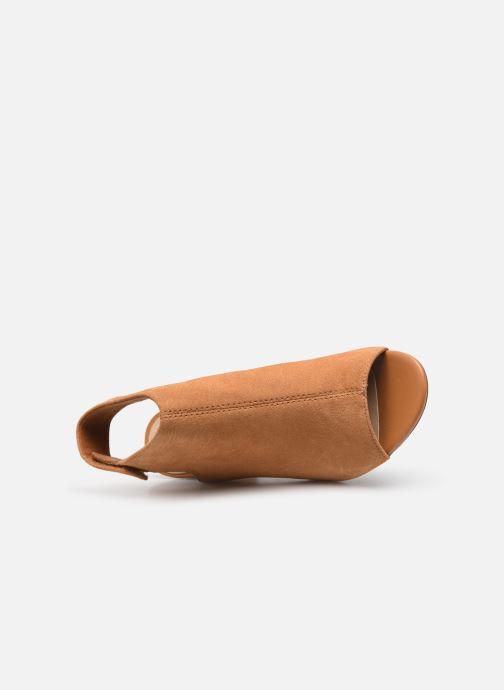 Sandales et nu-pieds Clarks DEVA BELL Marron vue gauche