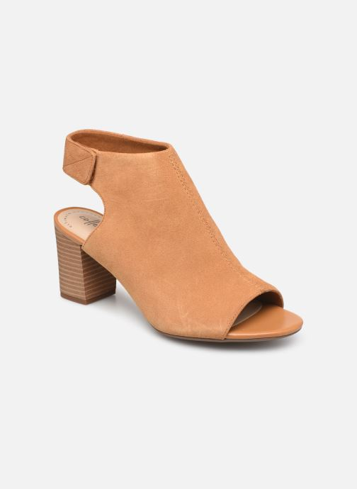 Sandaler Clarks DEVA BELL Brun detaljeret billede af skoene