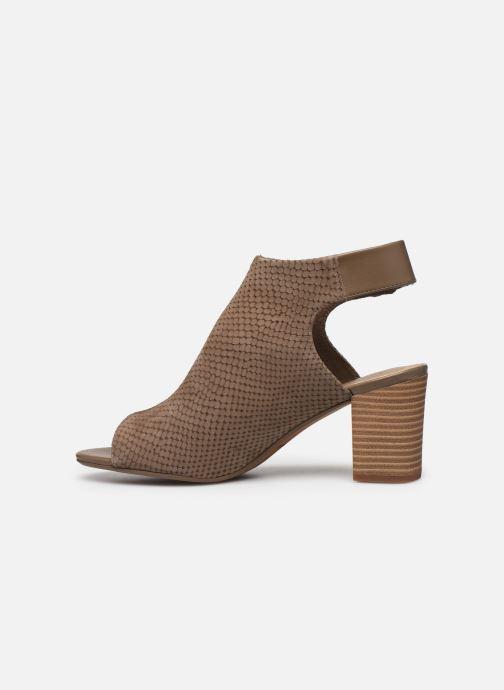 Sandales et nu-pieds Clarks DEVA BELL Vert vue face