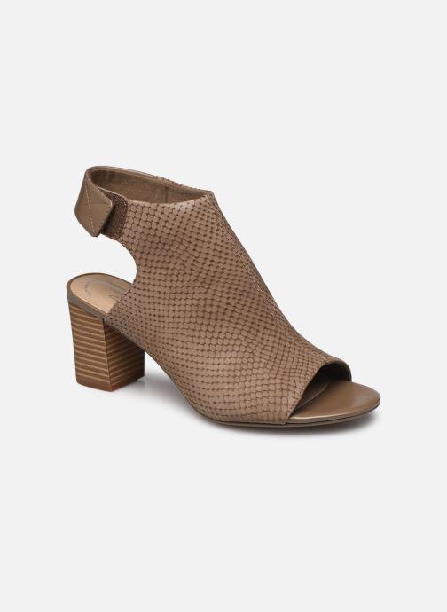 Sandales et nu-pieds Clarks DEVA BELL Vert vue détail/paire