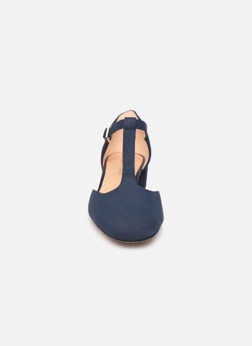 Ballerines Clarks ORABELLA HOLLY Bleu vue portées chaussures