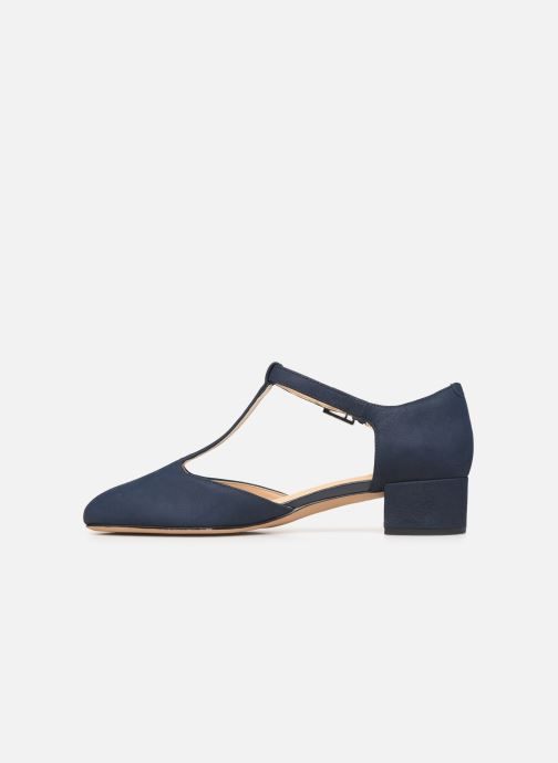 Ballet pumps Clarks ORABELLA HOLLY Blue front view