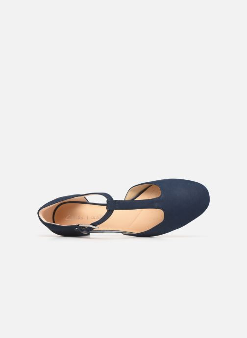 Ballet pumps Clarks ORABELLA HOLLY Blue view from the left