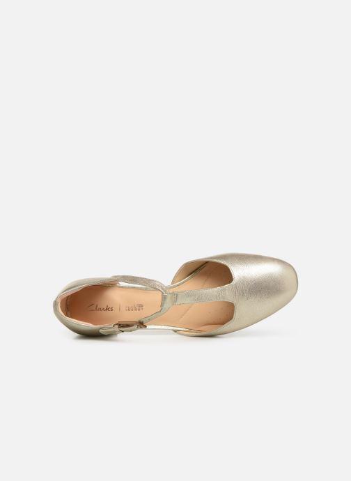 Ballerinas Clarks ORABELLA HOLLY gold/bronze ansicht von links