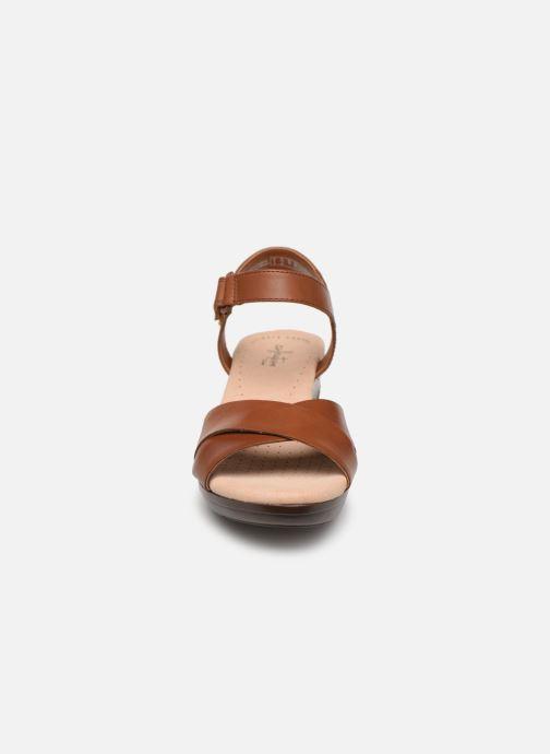 Sandaler Clarks Lynette Deb Brun se skoene på