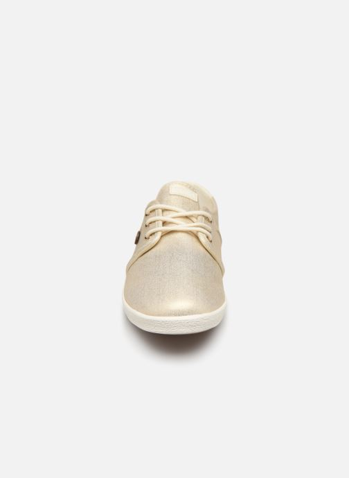 Trainers Faguo Cypress Cotton W Bronze and Gold model view