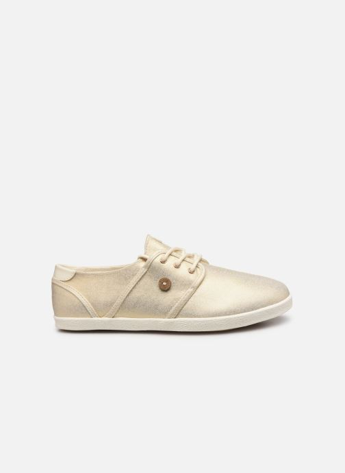 Trainers Faguo Cypress Cotton W Bronze and Gold back view