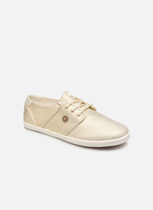 Trainers Faguo Cypress Cotton W Bronze and Gold detailed view/ Pair view