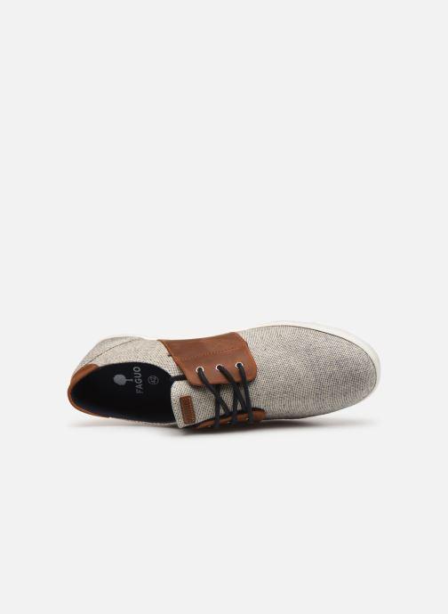 Sneakers Cotton Cypress Chez C 366647 Leather azzurro Faguo qPTnAxXwA