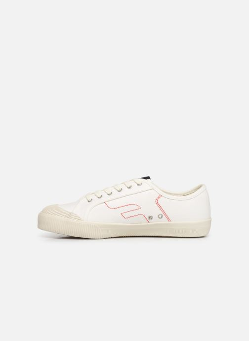 Trainers Faguo Avocado Cotton C White front view
