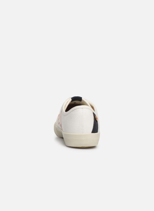 Trainers Faguo Avocado Cotton C White view from the right