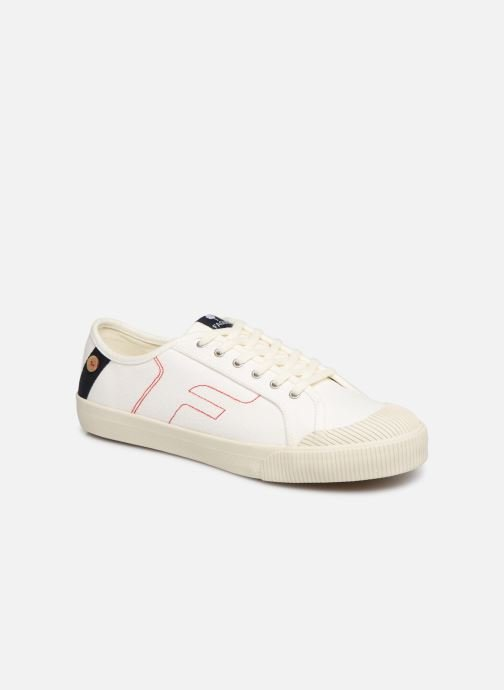 Trainers Faguo Avocado Cotton C White detailed view/ Pair view