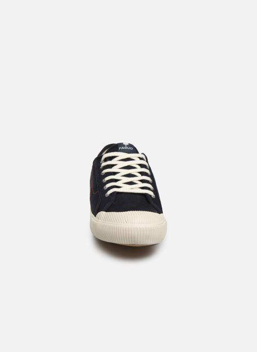 Baskets Faguo Avocado Cotton C Noir vue portées chaussures