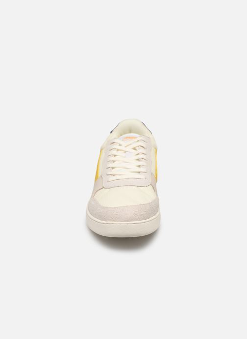 Trainers Faguo Hazel Leather Suede White model view
