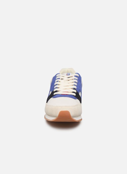 Trainers Faguo Runnings Ivy Synthetic Suede White model view